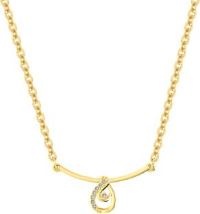 Spangel Enterprise Beautiful Designer Gold Plated Alloy Pendant