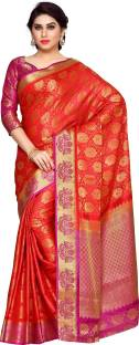 Mimosa Embellished Kanjivaram Art Silk Saree