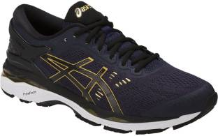 d7b1a654f225 Asics GEL - KAYANO 24 (2E) - SILVER BLACK MID GREY Running Shoes For ...