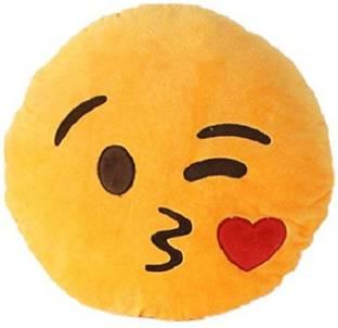 Akshat Alien Emoji - 15 inch (Multicolor) - 16 cm - Alien