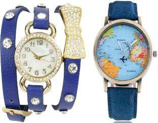 Versus by versace sof040014 watch for couple buy versus by declasse world map men watch with bo tie bracelet ladies pendent party wear diamond studded gumiabroncs Images