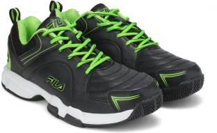 e60453bfa41 Fila LITE RUNNER PLUS 4 Running Shoes For Men - Buy BLK DK GRY RD ...