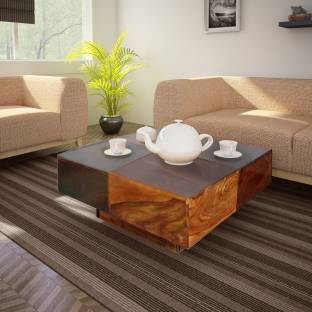 The Attic Cubo Sheesham Solid Wood Coffee Table