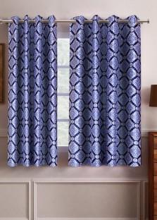 Flipkart SmartBuy Polyester Window Curtain 152 cm (5 ft) Pack of 2 & Flipkart SmartBuy Polyester Window Curtain 152 cm (5 ft) Pack of 2 ...