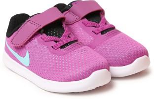 Nike Boys & Girls Velcro Sneakers  (Purple)