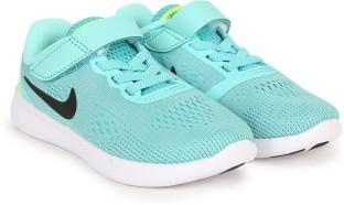 Nike Boys & Girls Velcro Sneakers  (Green)