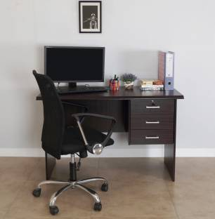 RoyalOak Bell Engineered Wood Office Table Price in India Buy