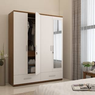 zuari furniture wardrobe. Spacewood Classy Engineered Wood 4 Door Wardrobe Zuari Furniture