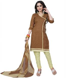 e7789f951d Shopeezo Cotton Solid Salwar Suit Dupatta Material Price in India ...