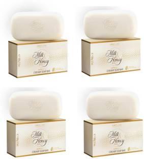 Oriflame Milk & honey Soap(pack of 4)