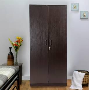 Hometown Prime 2 Door Wenge Engineered Wood Almirah