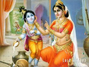 Krishna With Cow Beautiful Picture Wallpaper Poster Print Poster On 13x19 Inches Paper Print Religious Posters In India Buy Art Film Design Movie Music Nature And Educational Paintings Wallpapers At Flipkart Com