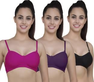b56e816ba7c04 Yes Beauty Women T-Shirt Non Padded Bra