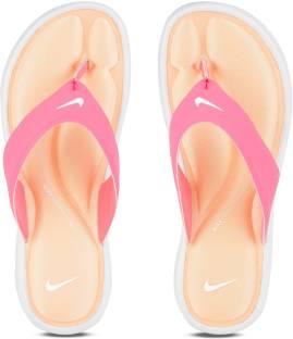 6705c6f14881 Nike WMNS ULTRA COMFORT THONG Flip Flops - Buy RACER PINK WHITE ...