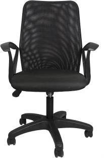 Flipkart Perfect Homes Fabric Office Visitor Chair