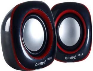 Quantum QHM 902 Laptop/Desktop Speaker Black, 2.0 Channel