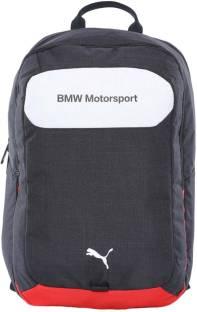 8708da6444 Puma BMW Motorsport Backpack 19 L Laptop Backpack White-Team Blue ...