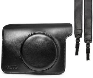 Caiul Vintage Instax Wide 300 Leather Black  Camera Bag