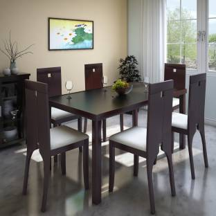 Parin Glass 6 Seater Dining Set