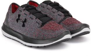 624e6d2062 Under Armour Thrill 2 Running Shoes For Men - Buy Black   Red ...