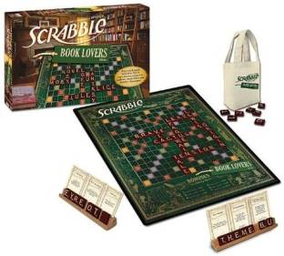 Hasbro Scrabble Deluxe Turntable Game Board Game - Scrabble