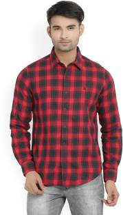Red And Black Check Shirt - Buy Red And Black Check Shirt online ...