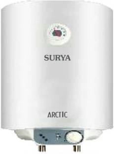 SURYA 25 L Storage Water Geyser (arctic, White)