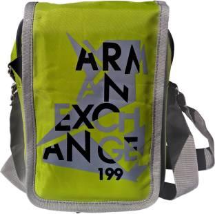 a9e904655e3e Aoking Men Casual Green Polyester Sling Bag