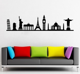 Flipkart SmartBuy Large Digital Printed PVC Vinyl Sticker