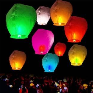 Pick Indiana Multicolor Paper Sky Lantern