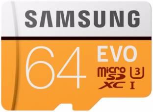 SAMSUNG EVO 64 GB SDXC Class 10 100 Mbps  Memory Card