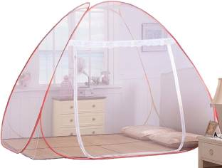 Classic Polyester Adults Foldable Mosquito Net King Size Double Bed