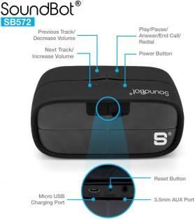 SoundBot SB572 3 W Bluetooth Mobile/Tablet Speaker