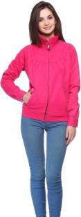 Gritstones Full Sleeve Solid Women's Jacket