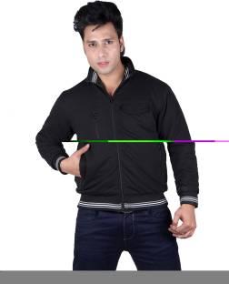 54976e58444 Blu Star Full Sleeve Solid Men's Double Zipper Jacket - Buy Black ...