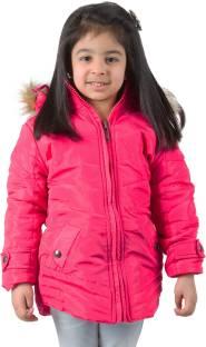 Burdy Full Sleeve Solid Girls Jacket