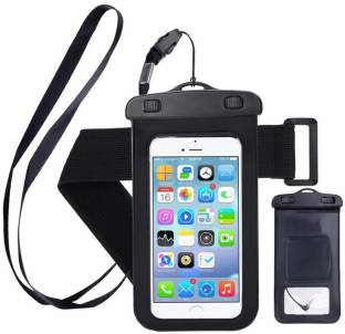 """Clevermatter Pouch for all smartphones upto 6"""" Display size, Safecasepro, Universal , Waterproof"""