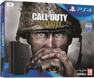 Sony Call of Duty: WWII PS4 Bundle One TB GB with COD WW2 Price in Call Of Duty World At War Map Pack Bundle on