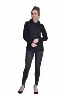 DARZIFull Sleeve Solid Women Jacket