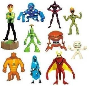 Generic Ben 10 Alien Force Figures Goop Figure 10 Pack Great For