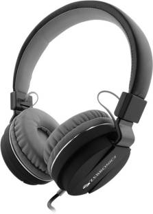 ZEBRONICS Storm Black Wired without Mic Headset