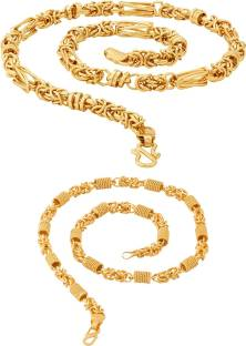 Gold chain for men buy gold chain for men online at best prices fashion frill trendy fancy classic byzantine stylish bold rollo with twist heavy men rhodium mozeypictures Image collections