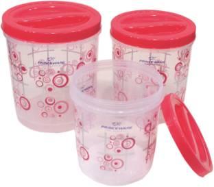 PRINCEWARE Twister  - 9.77 L, 7.14 L, 5.1 L Plastic Grocery Container