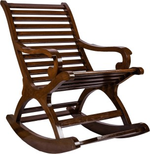 Perfect Surprise Interiors BrownRock Solid Wood 1 Seater Rocking Chairs