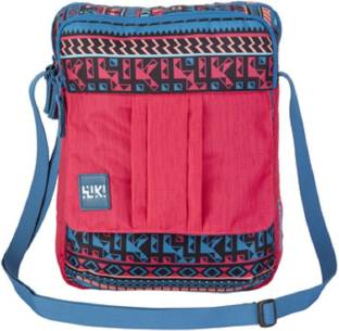Wiki Boys Girls Pink Polyester Sling Bag