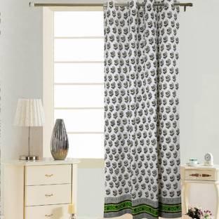 Ethnic Rajasthan Cotton Door Curtain 210 Cm 6 Ft Single