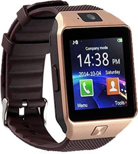 ac99d228a Piqancy 4G Compatible Bluetooth DZ09 Wrist Watch Phone with Camera   SIM  Card Support (Brown. Add to Compare