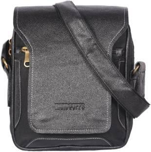 7f432bbe4131 HANDCUFFS stylish side sling bag shoulder bag leather bag 12 inch.
