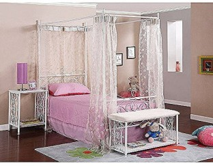 Generic Canopy Wrought Iron Princess Bed Multiple Colors White & Generic Dome Princess Bed Canopy For Baby Kids Reading Play Tents ...