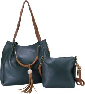 b9d1b2b7dda1 Buy Zornna Shoulder Bag Dark-Green Online   Best Price in India ...